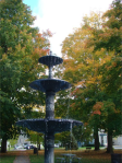 Fountain at the Village Green