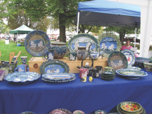 Hand-painted wares