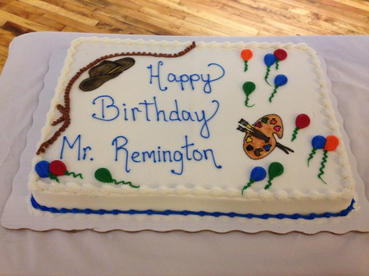 Remington Birthday